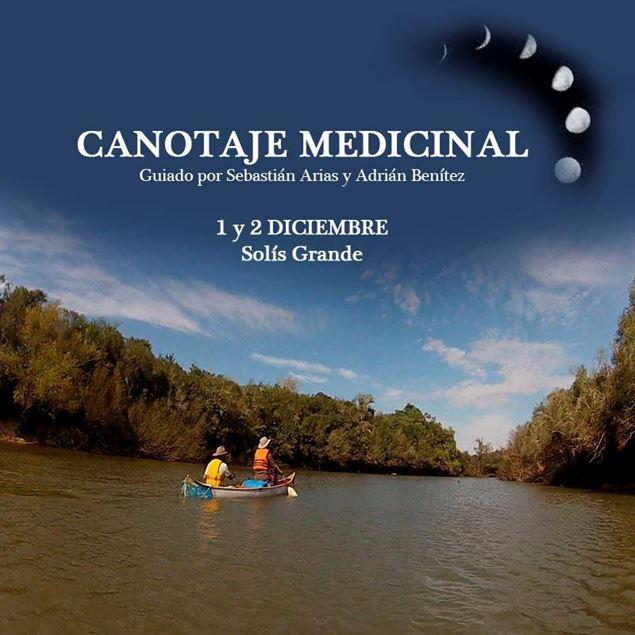 Imagen de CANOTAJE MEDICINAL CICLO 2018  CUARTA travesía . Luna MENGUANTE . El recogimiento