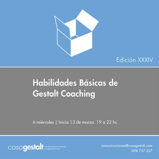 Imagen de Habilidades Básicas de Gestalt Coaching (20 horas)