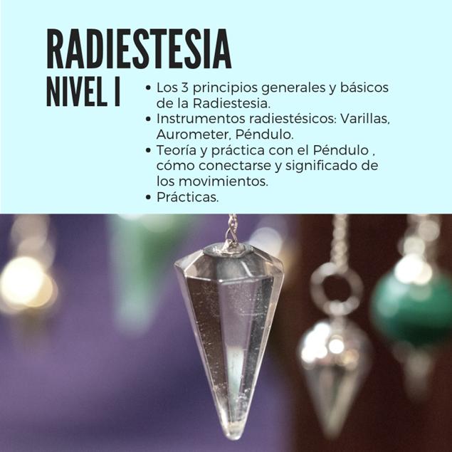 Imagen de RADIESTESIA NIVEL 1