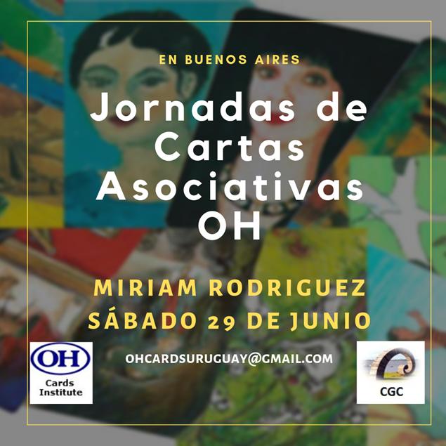 Imagen de Jornadas de Cartas Asociativas  OH Buenos Aires, Sábado 29 de Junio 2019