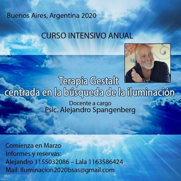 Imagen de Curso Intensivo Terapia centrada en la Iluminación en Buenos Aires