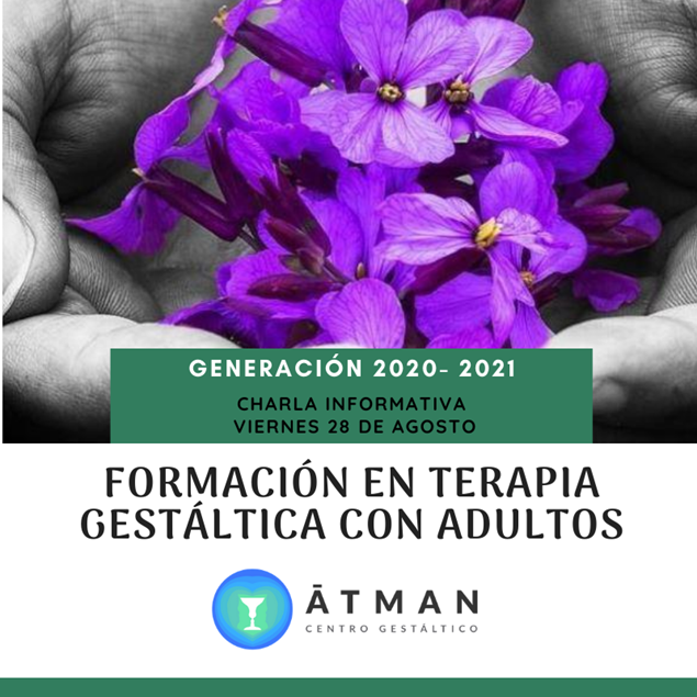 Imagen de Formulario Formación en Terapia Gestáltica con Adultos 2020 - 2021