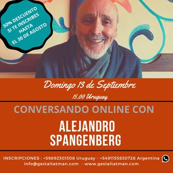 Imagen de CONVERSANDO CON ALEJANDRO SPANGENBERG