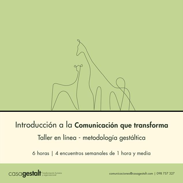 Imagen de Introducción a la Comunicación que Transforma - (6 horas)