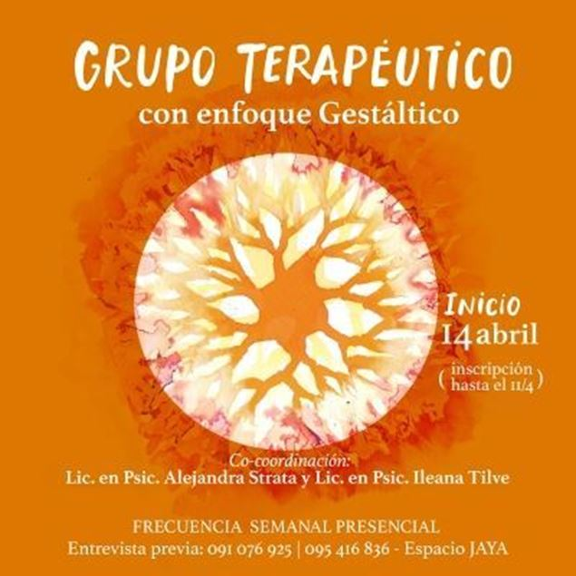 Imagen de Grupo Terapéutico
