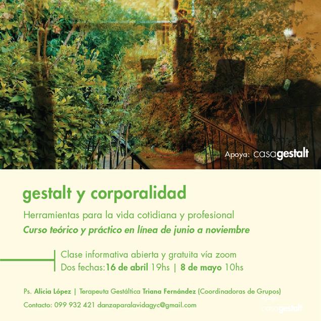 Imagen de Gestalt y Corporalidad 2021