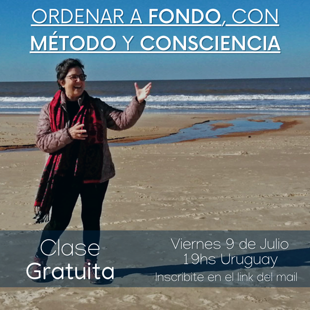 """Imagen de INVITACIÓN A CLASE GRATUITA DE """"EL CAMINO DE TU ORDEN"""""""